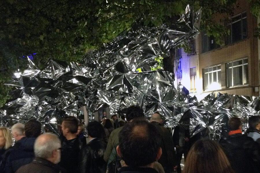 Nuite Blanche Bruxelles 2015 - Nazanin Fakoor - The Flower